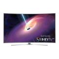 Curved 65-Inch 4K Ultra HD 3D Smart LED TV