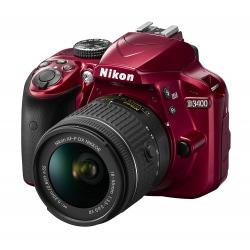 Nikon D3400 w/ AF-P DX...