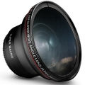 52MM 0.43x Altura Photo Professional HD Wide Angle Lens (w/ Macro Portion) for NIKON D7100 DSLR Camera