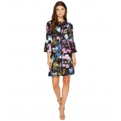 Augusta Bell Sleeve Floral...